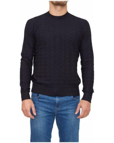 Niebieski pulower Emporio Armani
