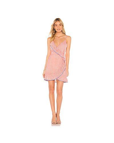 Платье мини с запахом на пуговицах The Fifth Label