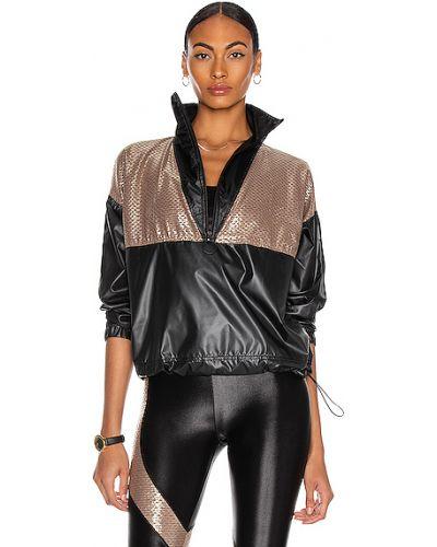 Текстильная черная куртка сетчатая Koral