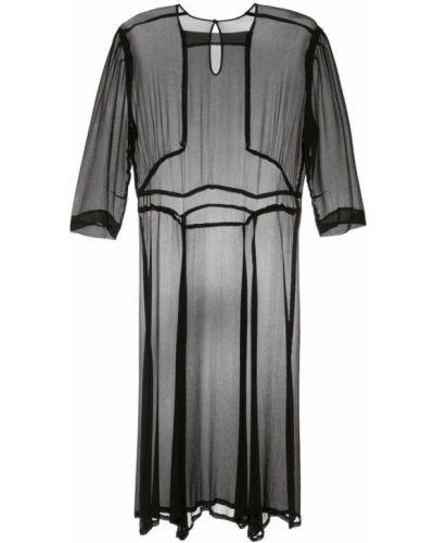 Платье свободного кроя - черное Zambesi