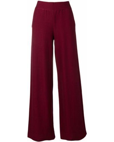 Свободные брюки палаццо красный Molli