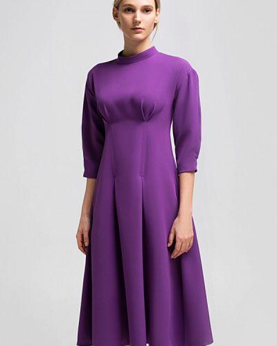 Платье весеннее фиолетовый Grass