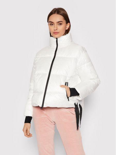 Biała kurtka puchowa Deha