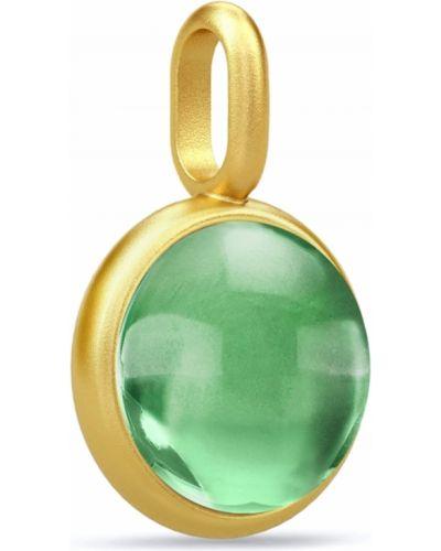 Zielona zawieszka srebrna Julie Sandlau