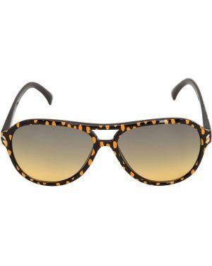 Czarne okulary z printem Stella Mccartney Kids