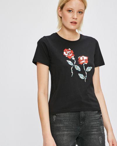 Свободная футболка сетка Silvian Heach