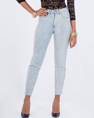 Белые джинсы Lost Ink.