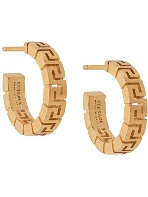 Kolczyki pierścionki kolczyki ze sztyftem ze złota Versace