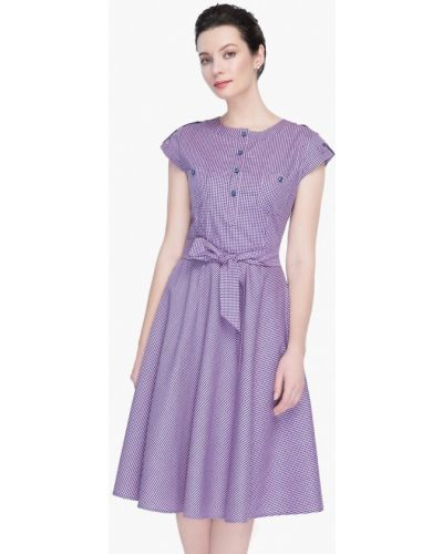 Фиолетовое платье весеннее Gregory
