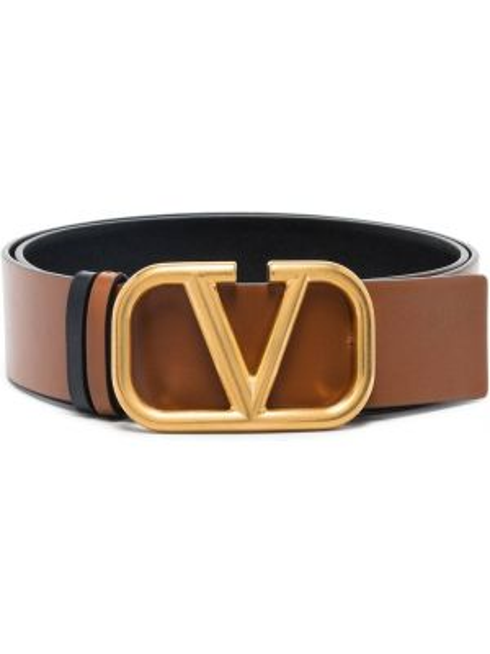 Ремень двусторонний коричневый Valentino