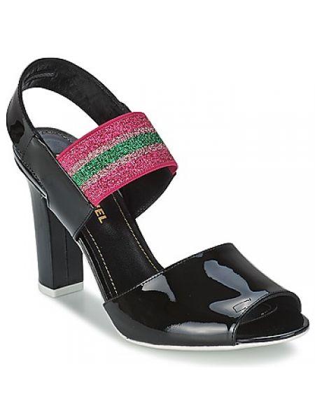 Czarne sandały Sonia Rykiel