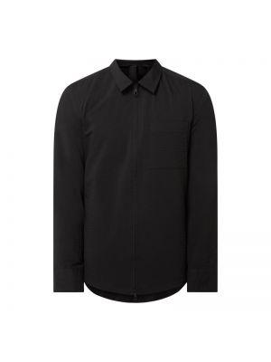 Czarna kurtka bawełniana Drykorn