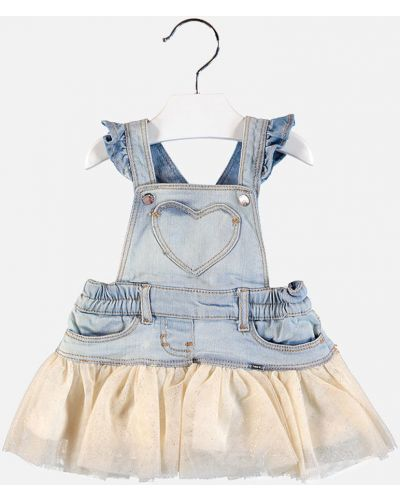 Платье джинсовое однотонное Mayoral