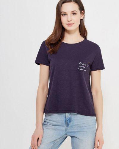 Синяя футболка Only