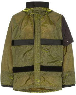 Нейлоновая куртка с капюшоном с рукавом реглан Nemen