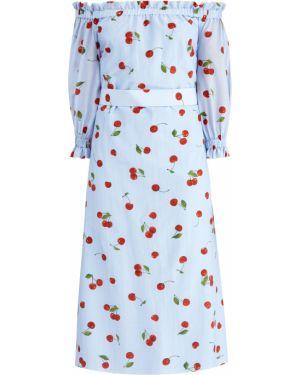 Платье муслиновое шелковое Alexander Terekhov