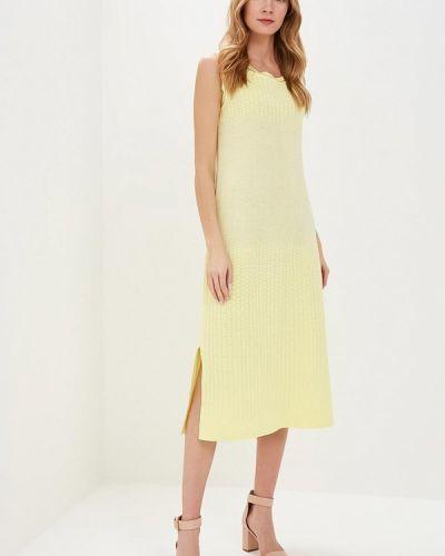 Платье свободного кроя - желтое Free Age