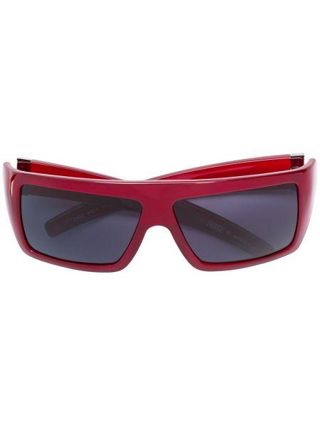 Прямые муслиновые серебряные солнцезащитные очки квадратные Gianfranco Ferre Pre-owned