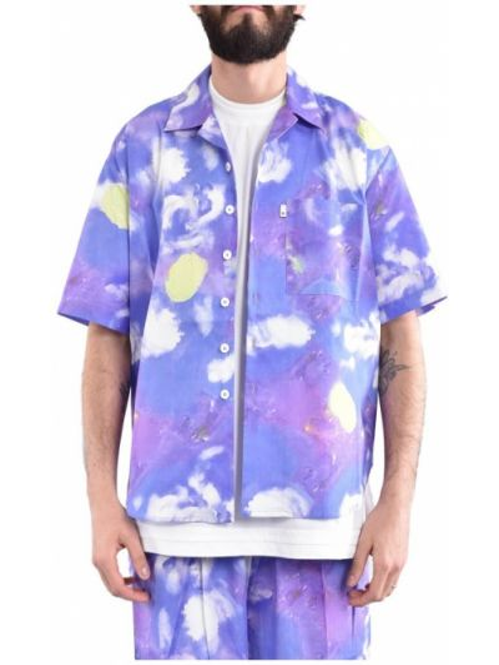 Fioletowa koszula Bonsai