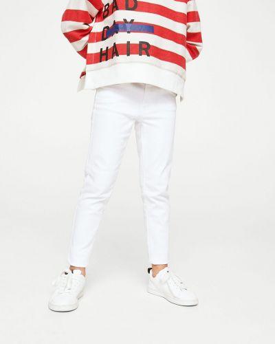 Белые джинсы Mango Kids