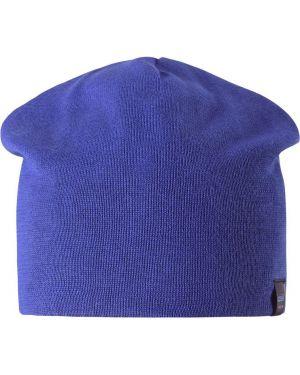 Хлопковая синяя повседневная шапка с подкладкой Lassie