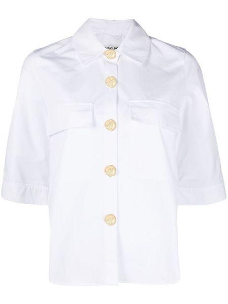 Рубашка с коротким рукавом - белая Max & Moi
