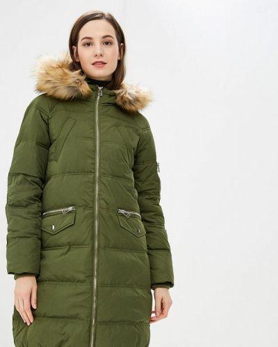 Зимняя куртка осенняя зеленая Modis