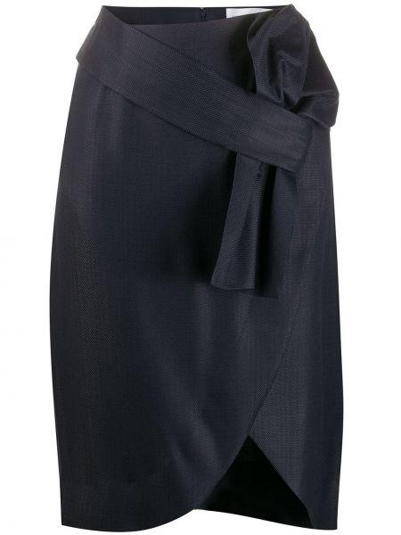Юбка мини с завышенной талией с бантом Victoria, Victoria Beckham