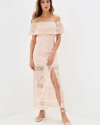 Платье розовое осеннее Danity