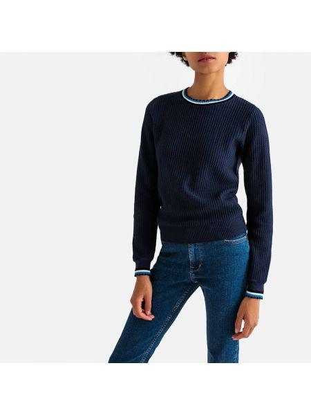 Пуловер в рубчик металлический La Redoute Collections