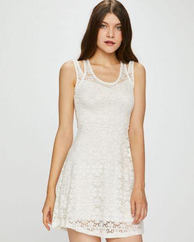 Платье мини однотонное расклешенное Haily's