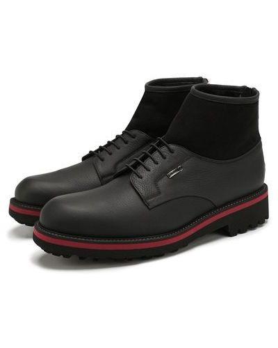 Кожаные ботинки с подкладкой свободного кроя Zilli