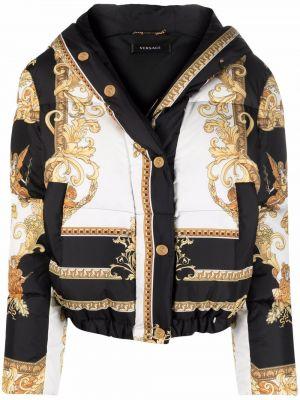 Белая куртка с карманами Versace