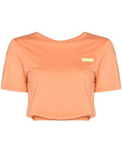 Pomarańczowa koszulka krótki rękaw P.e Nation