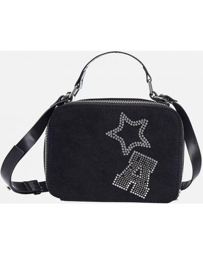 Черная сумка из искусственной кожи Mayoral
