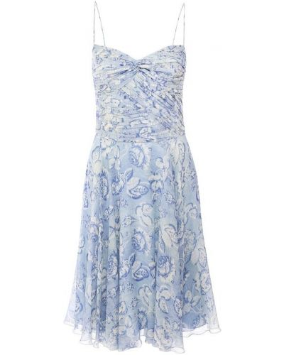 Платье мини на бретелях с принтом Ralph Lauren