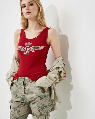 Красная майка Aeronautica Militare