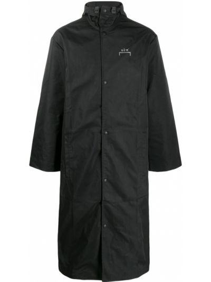 Płaszcz przeciwdeszczowy - czarny A-cold-wall*