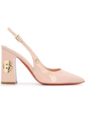 Туфли на каблуке кожаные на высоком каблуке Baldinini