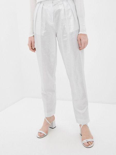 Серебряные брюки Nude