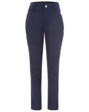 Спортивные брюки из полиэстера - синие Luhta