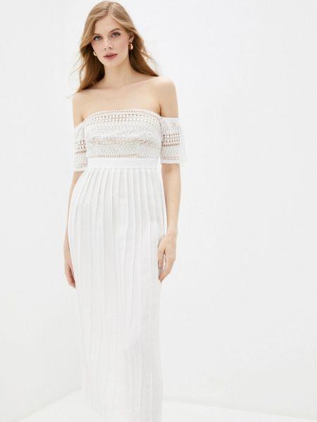 Платье с открытыми плечами весеннее Little Mistress