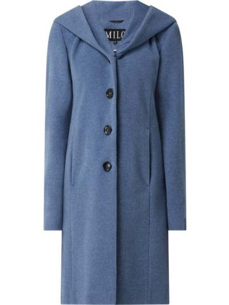 Niebieski płaszcz wełniany Milo Coats