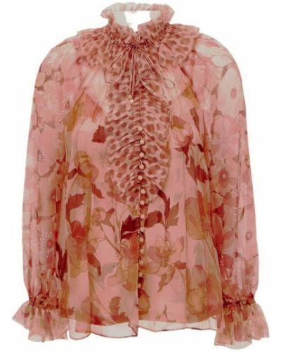 Różowa bluzka Zimmermann