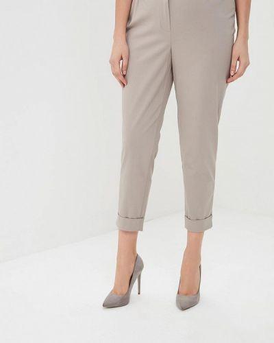 Бежевые брюки Silver String