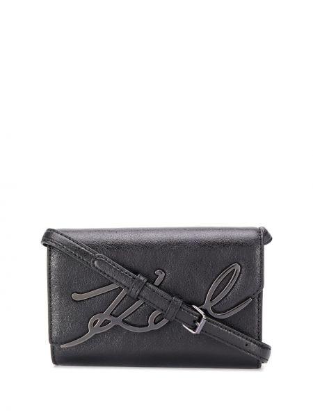 Поясная сумка на плечо с клапаном Karl Lagerfeld