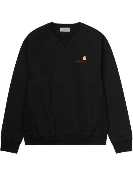 Bawełna bawełna czarny bluza amerykański Wacko Maria