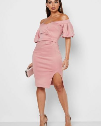 Облегающее платье с короткими рукавами Lipsy