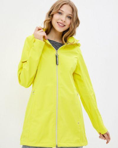 Желтая куртка Luhta