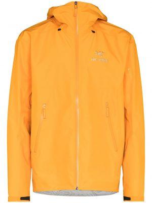 Куртка с капюшоном - оранжевая Arcteryx